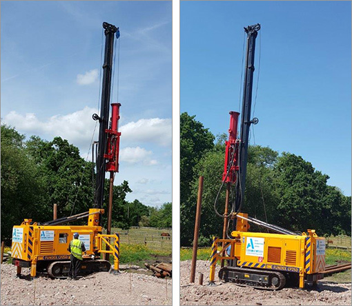BKH11 - Top Driven Silent Piling Rig